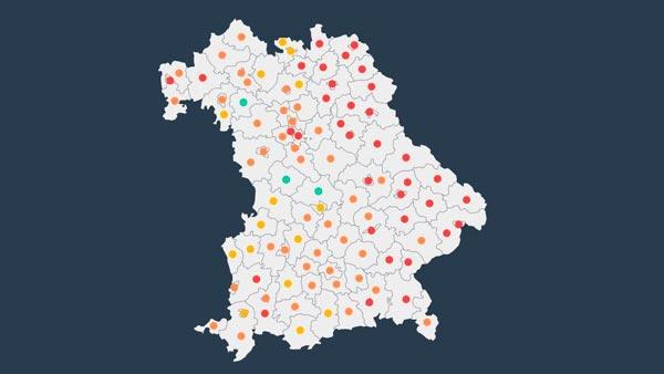 Deutschland Corona Karte
