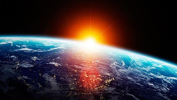 Erde Sonne
