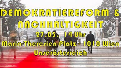 Demo am Maria-Theresien-Platz