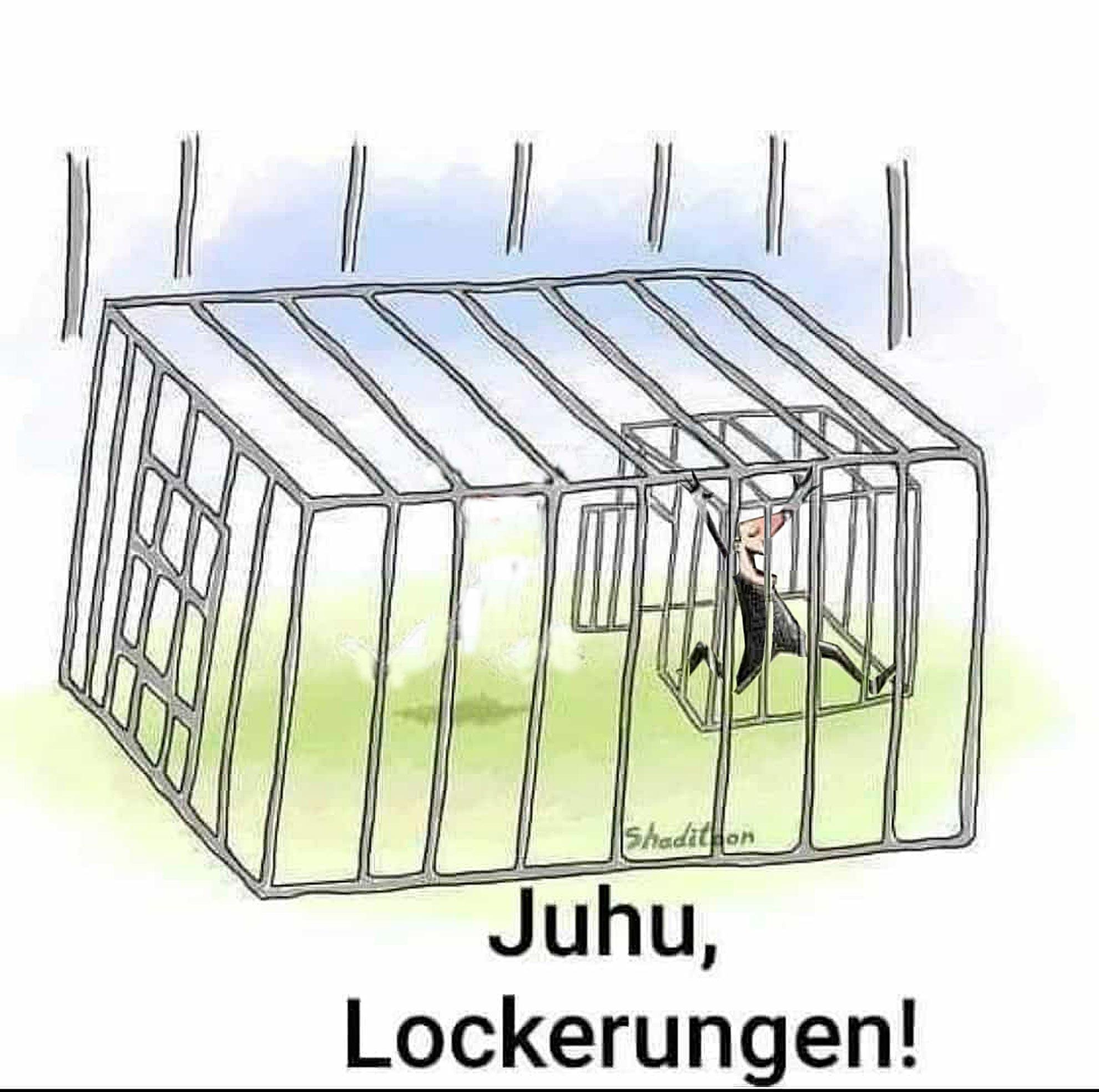 Juhu Lockerungen