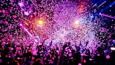 disco-feiern-abends