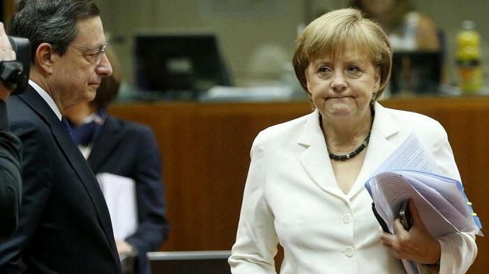 Draghi - Merkel