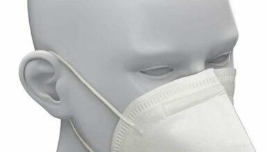 FFP2 Maske lang