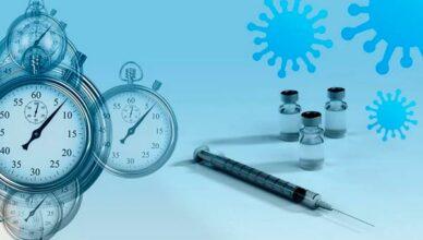 Impfung-Uhr