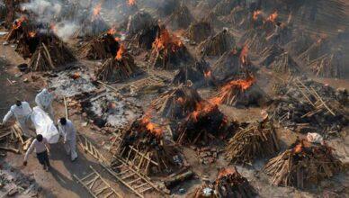 Indien Leichen verbrennen