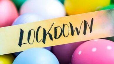 Lockdown Ostereier