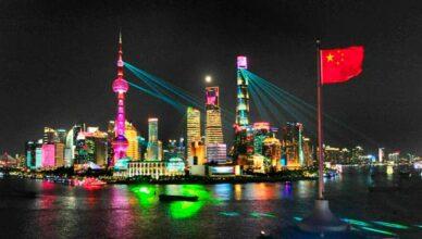 Schanghai bei Nacht