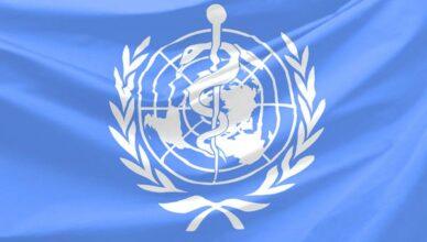WHO Flagge