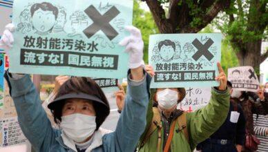 Proteste in Japan