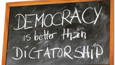 Demokratie Diktatur