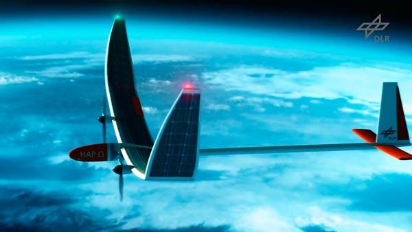 Solarbetriebenes Stratosphärenflugzeug