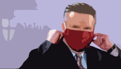 Ludwig mit Maske