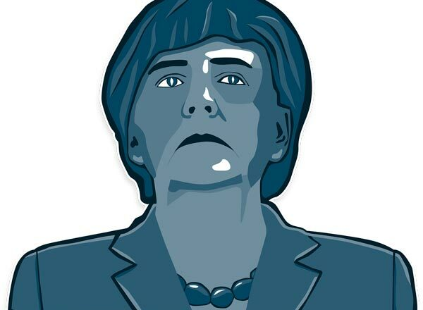 Merkel Cartoon