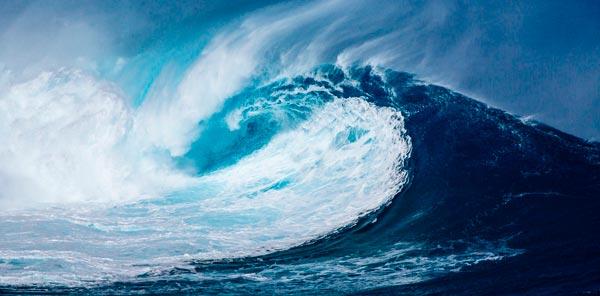 Riesen Welle