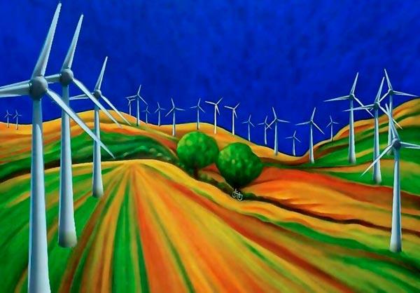 Windkraftweke