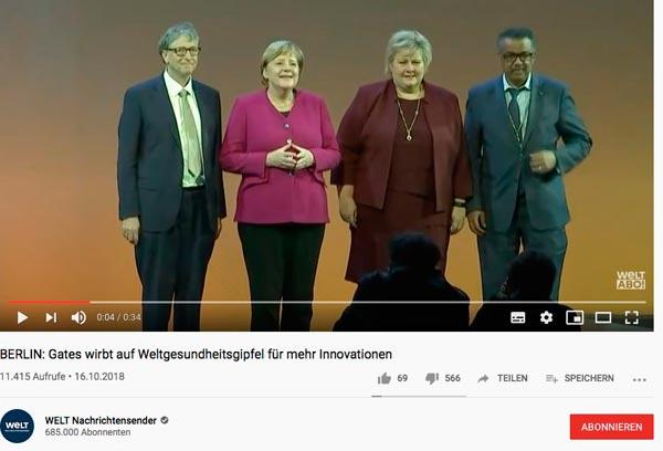 Billgates und Deutschland