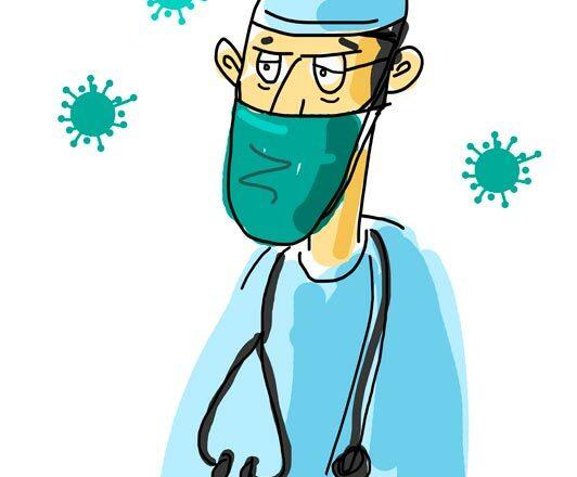 Corona Arzt