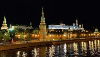 Kremel bei Nacht