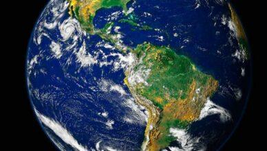 Planet Erde aus dem All