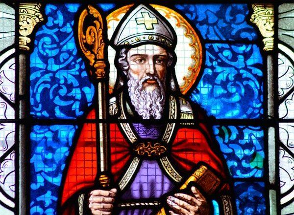 Glasmalerei Bischof
