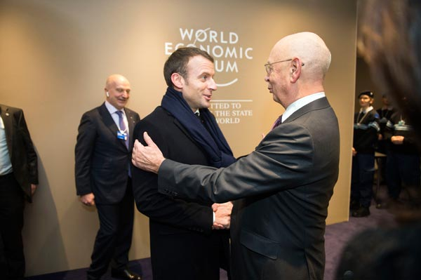Macron Schwab