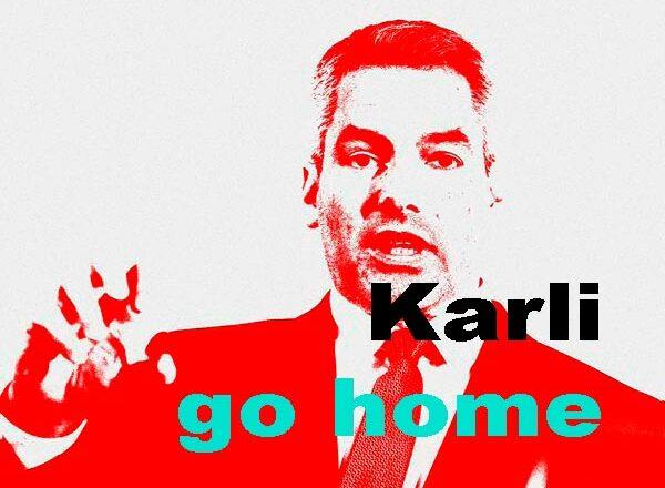 Nehammer Karli go home