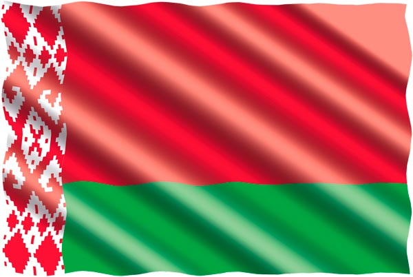 Belarus Flagge