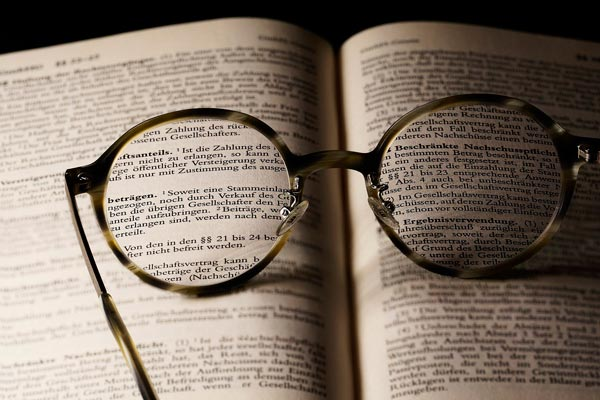 Brille au fBuch