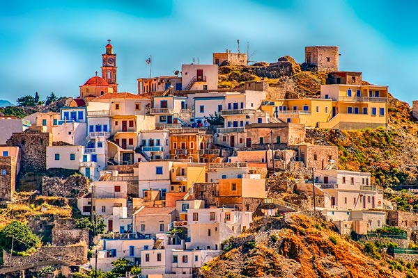 Griechisches Dorf