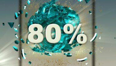 80 Prozent