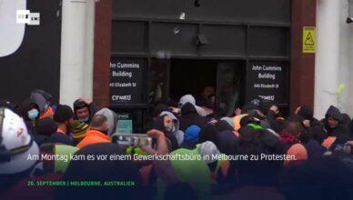 Australien Proteste