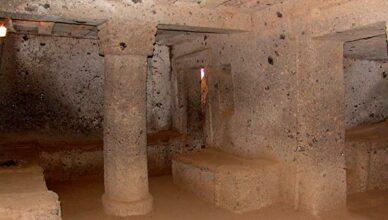 Italien Antikes Grab