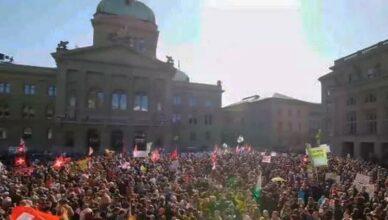 Proteste Bern